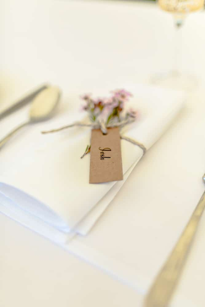 wedding napkins Brisbane wedding (18)