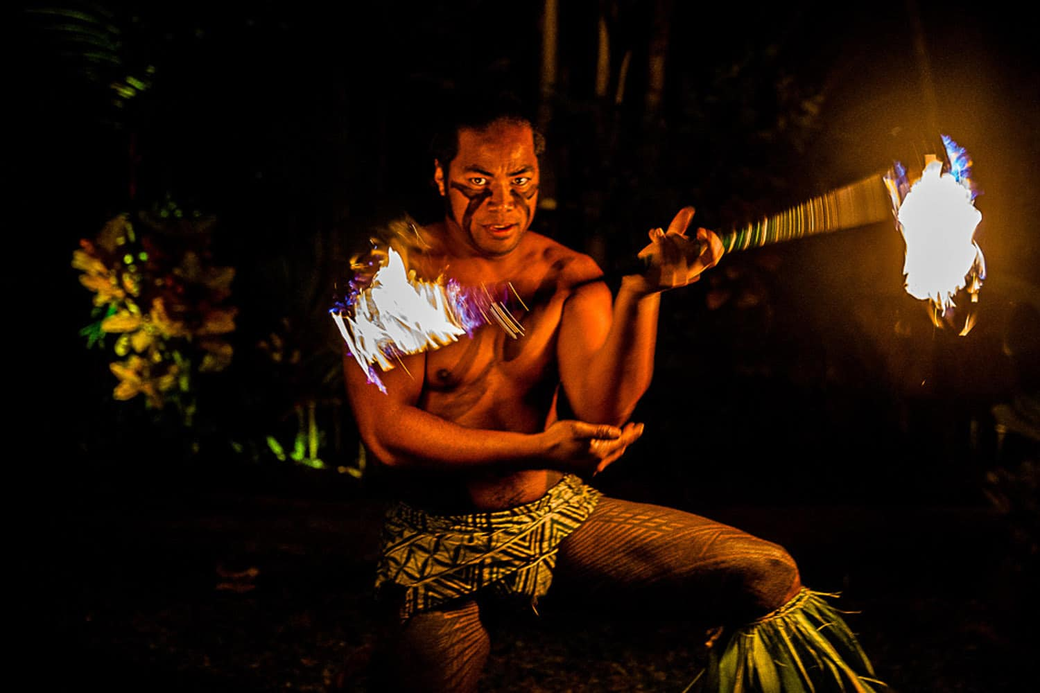 Oahu Fire Dancers