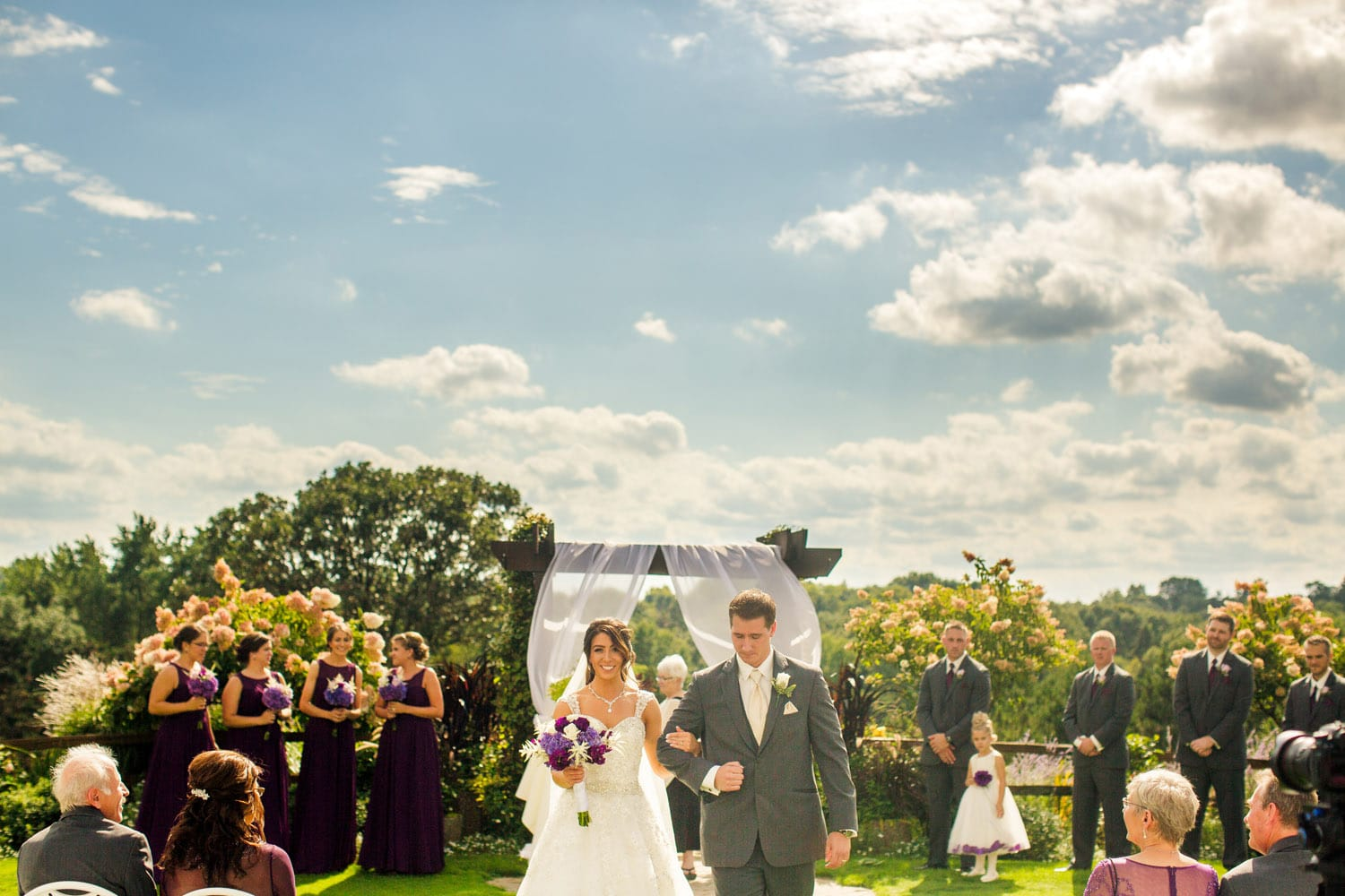 Groton country club wedding