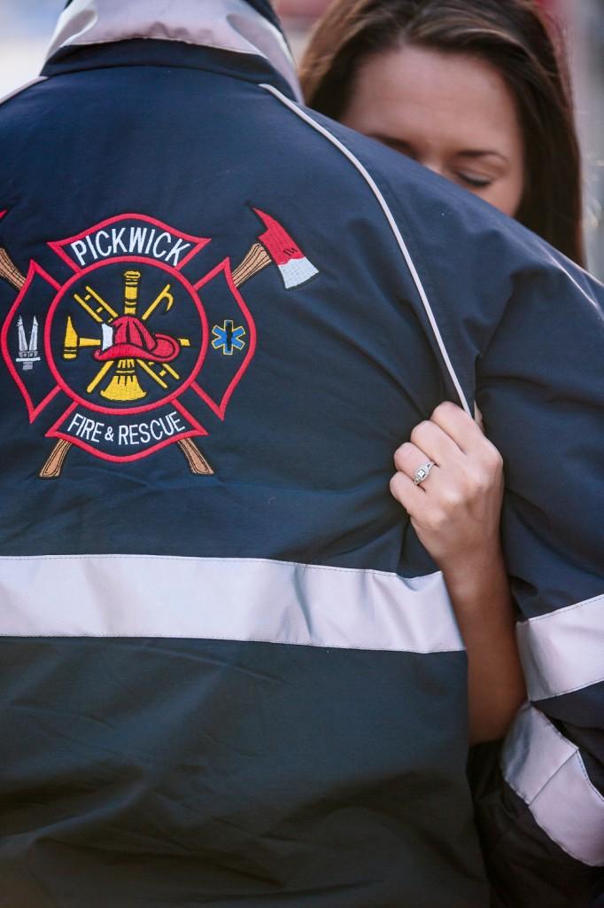 Firefighter Engagement photos