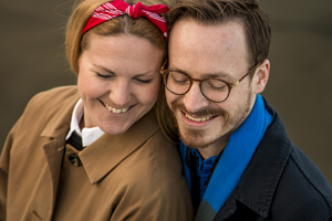 Engagement Sweden smiling