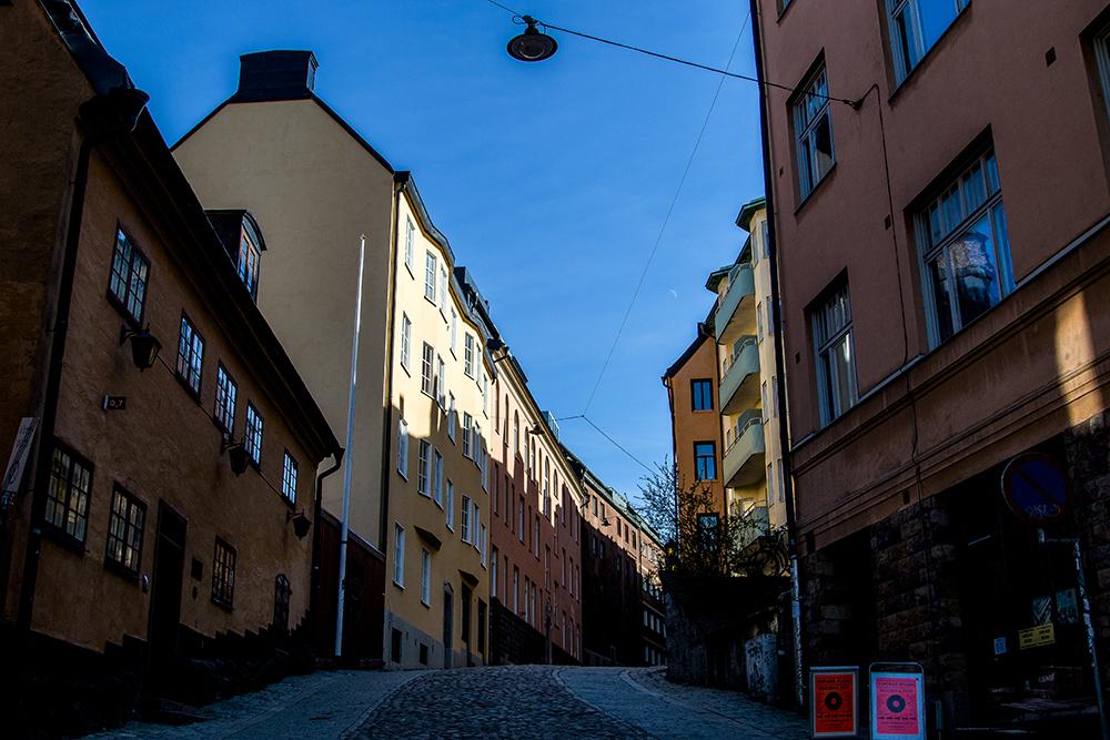 Stockholm Gamla Stan alley