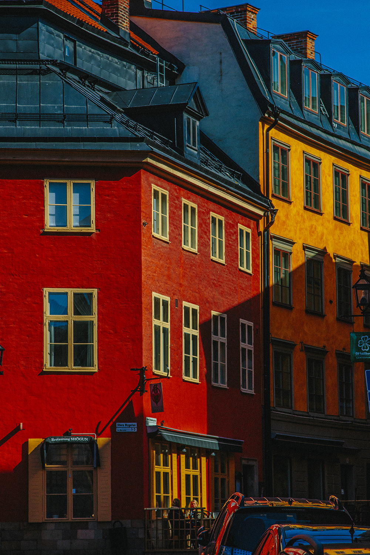 Stockholm Gamla Stan building