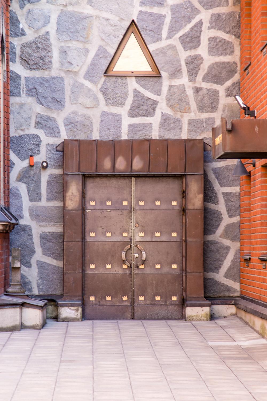 Stockholm Gamla Stan double door