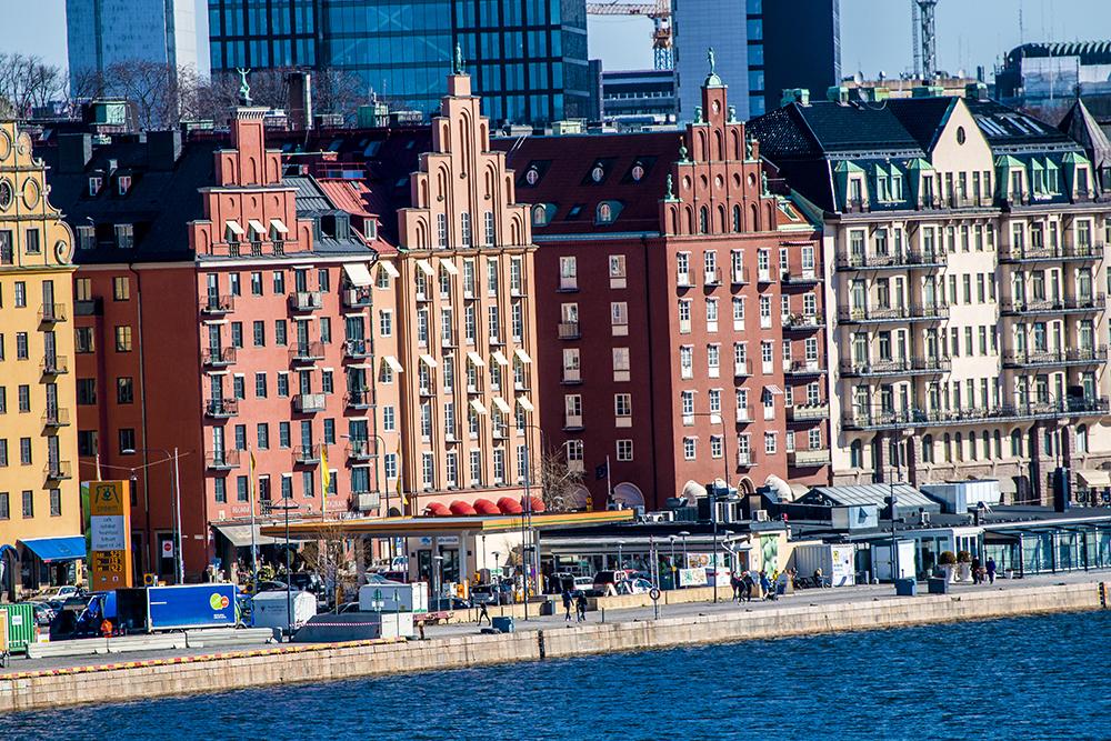 Stockholm Kungsholmen riverside 2