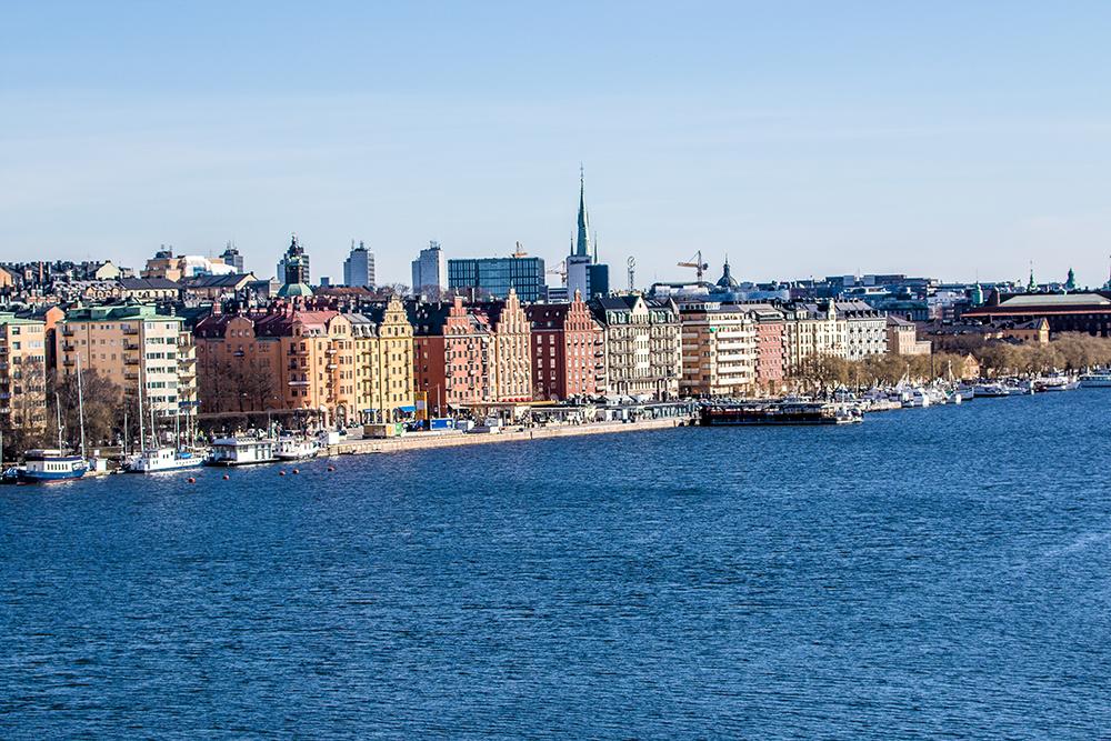 Stockholm Kungsholmen riverside