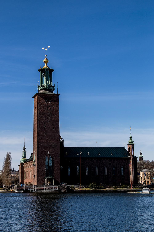 Stockholm Stadshusparken building