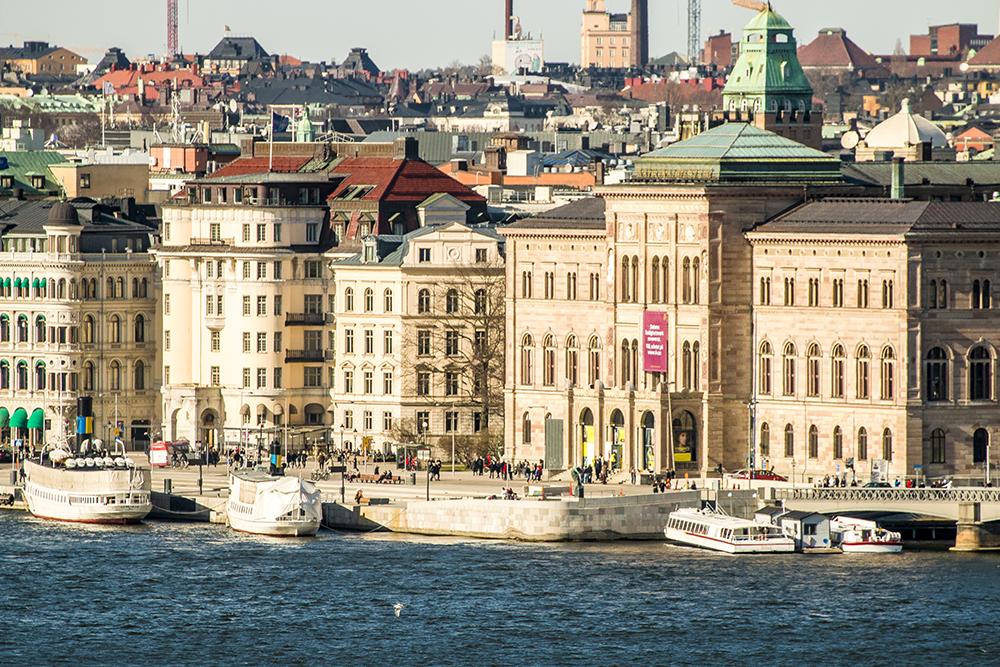 Stockholm building Kungsholmen