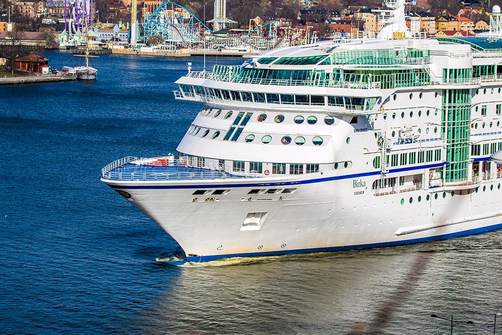 Stockholm cruise boat