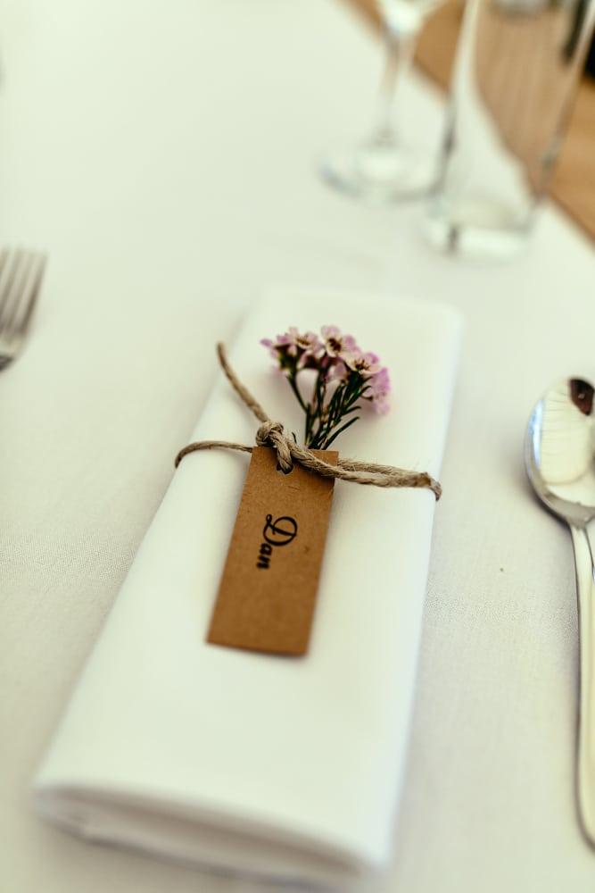 wedding napkins Brisbane wedding (10)