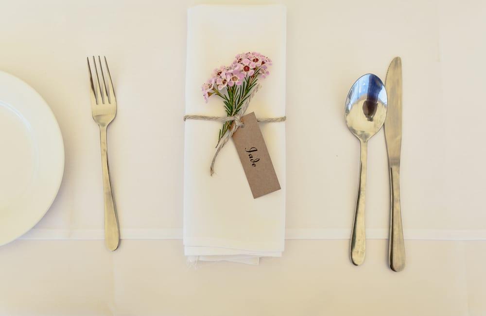 wedding napkins Brisbane wedding  (16)