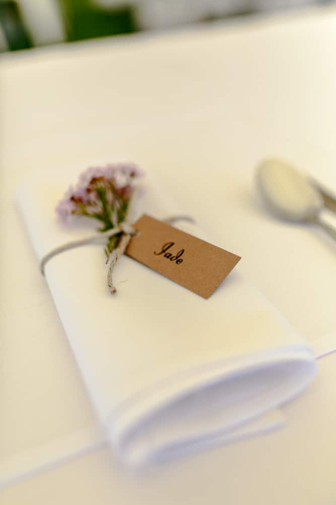 wedding napkins Brisbane wedding (17)
