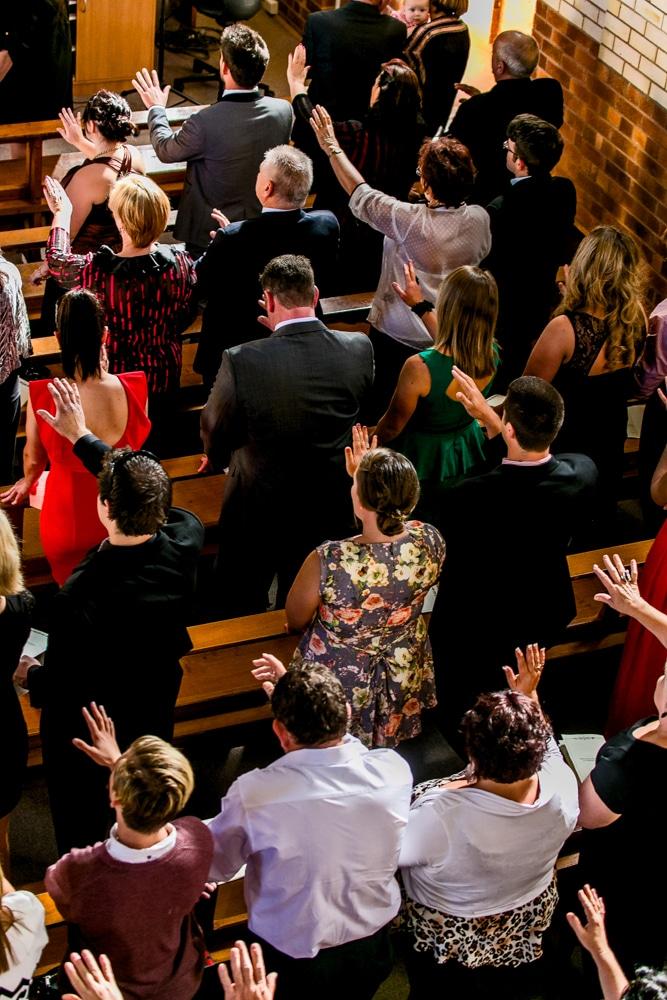 prayer Brisbane wedding (67)