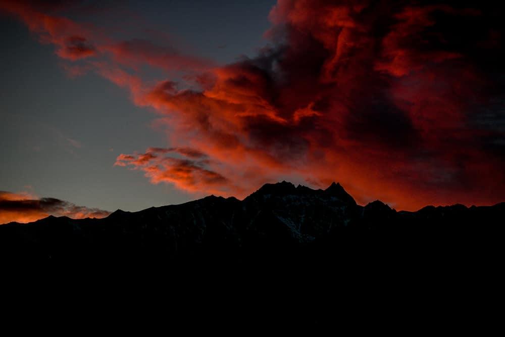 sunrise Queenstown NZ