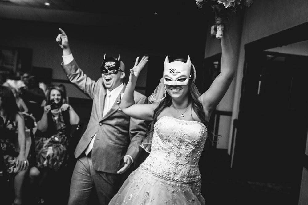 Batman Wedding Photo