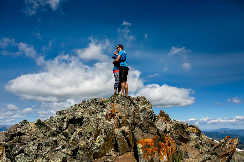 quandary Hike CO0011