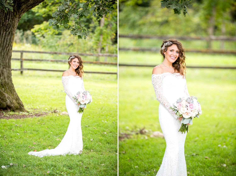 Mayowood barn Bride