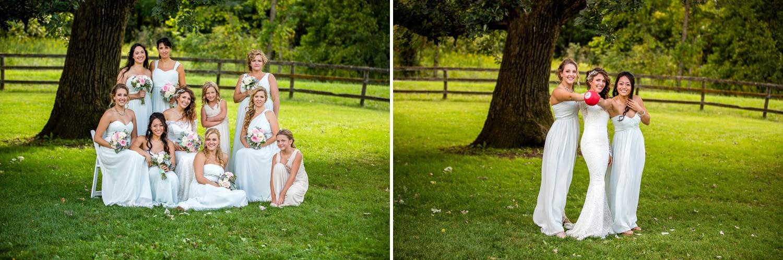 Mayowood barn Bridesmaids