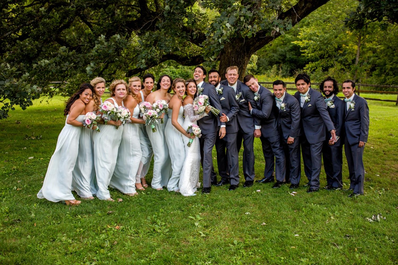 Mayowood barn Bridal Party