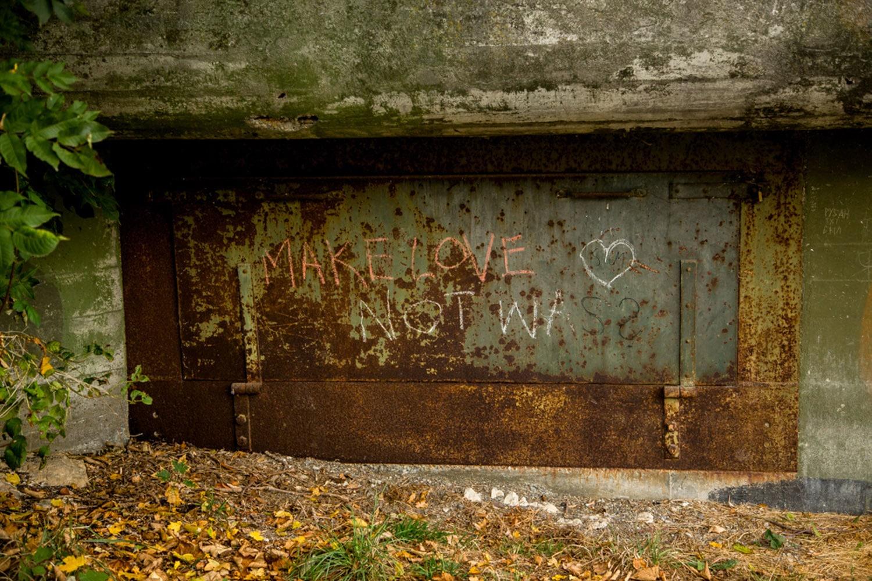 rhine falls Path