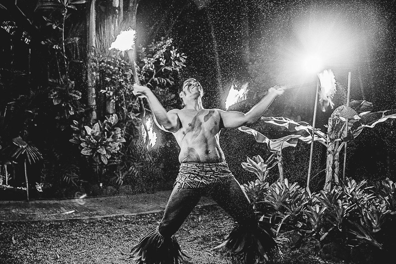 Oahu Fire Dancers