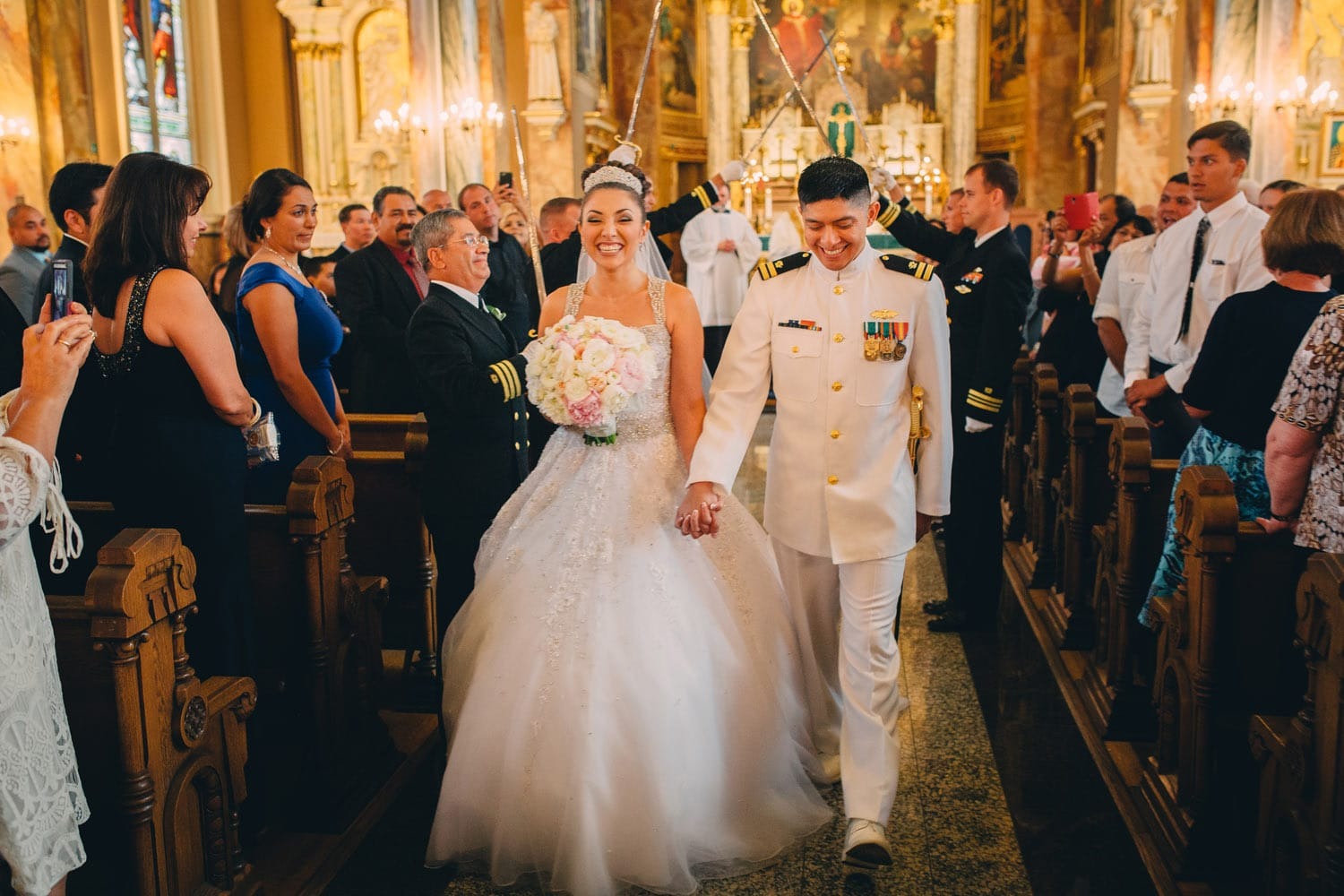 Navy Officer Wedding
