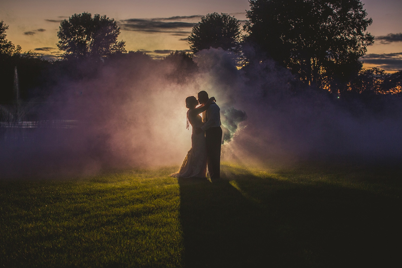 Smoke Bomb Wedding