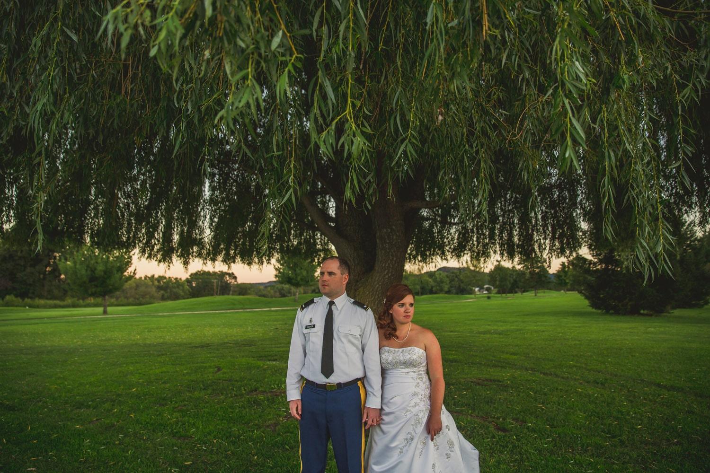 Army Nurse Wedding