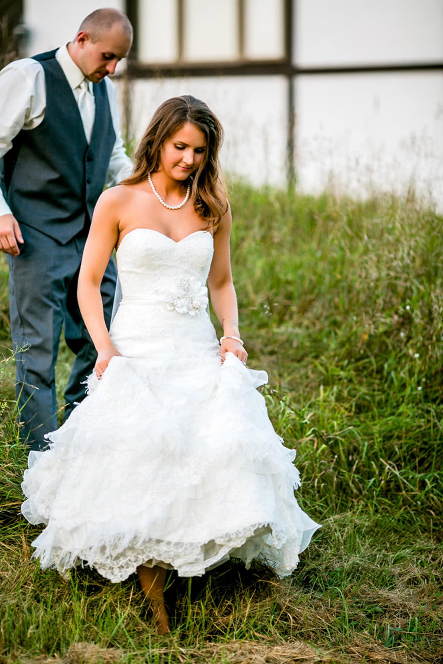 Cute couple wedding
