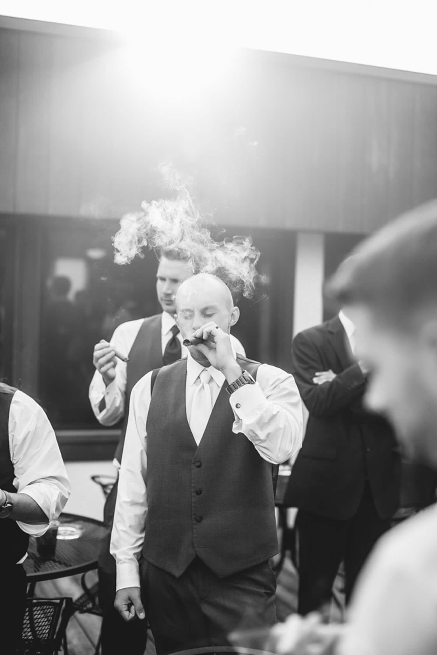 Silly wedding photos