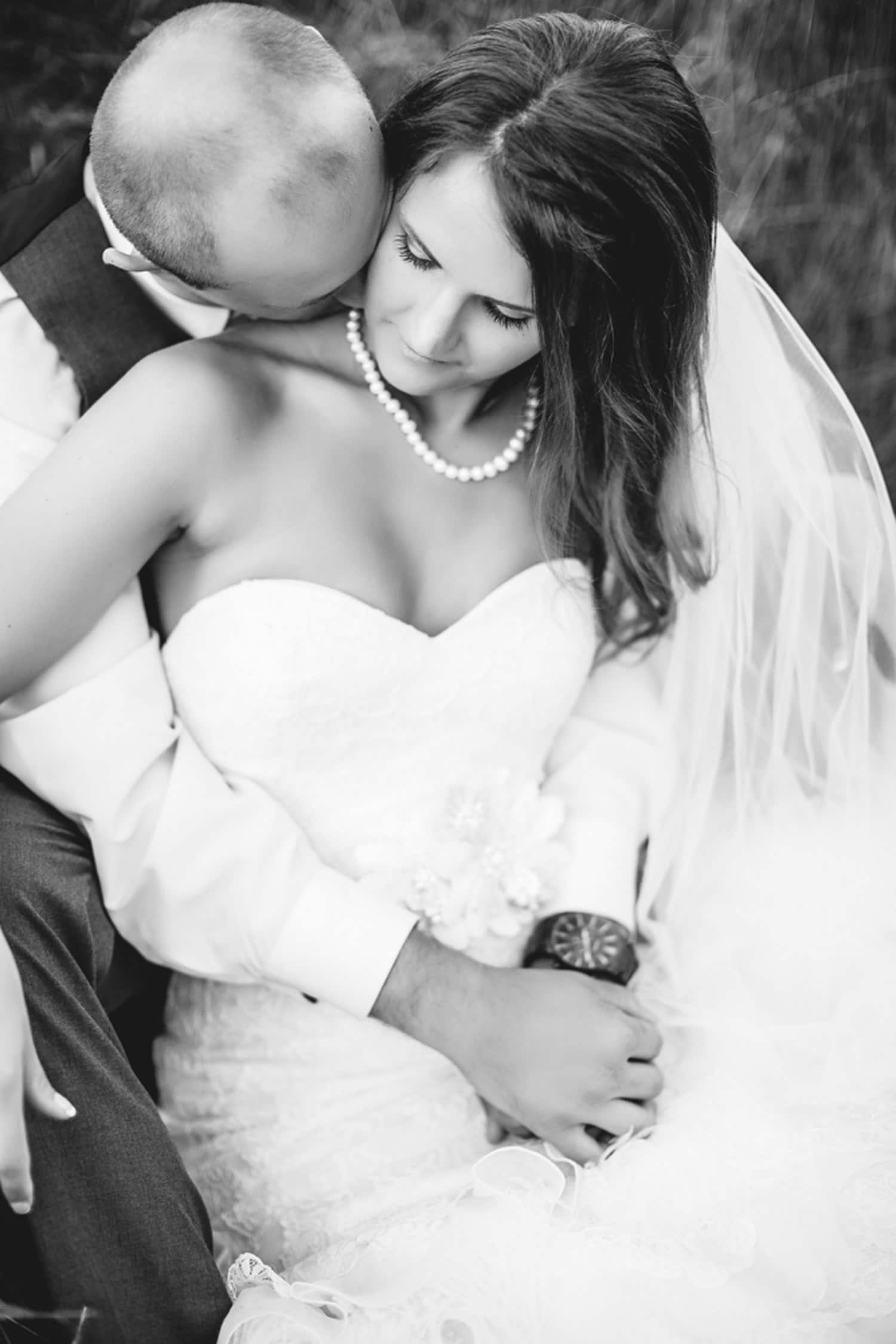 gorgeous rustic bride
