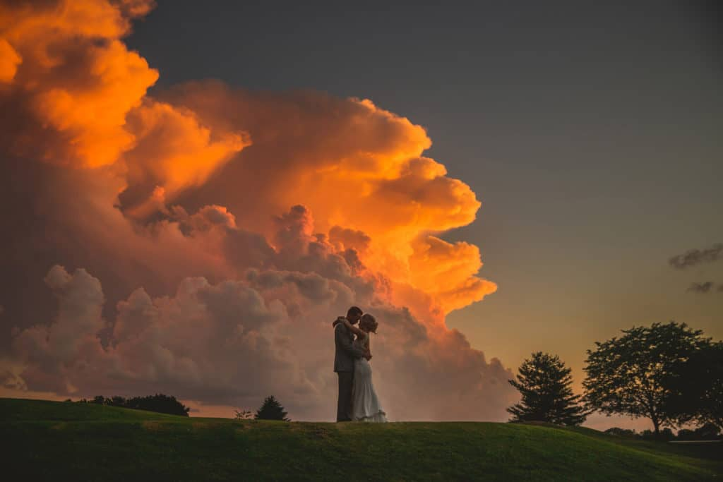 Crazy Storm Wedding PHoto
