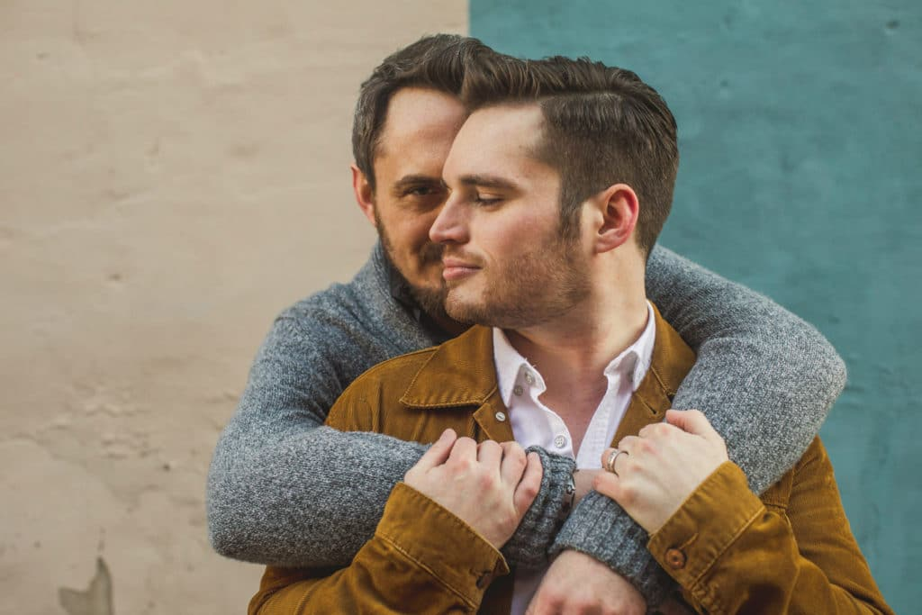 Gay Engagement Photographer