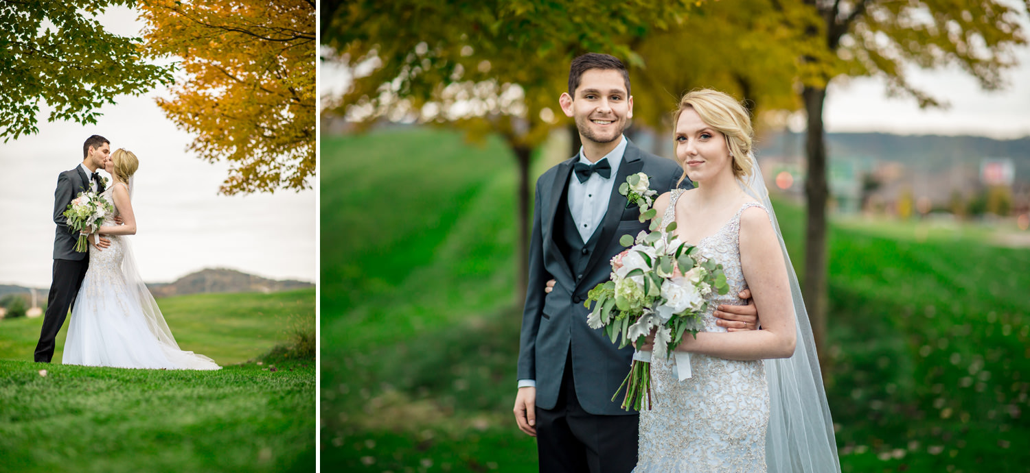 Fall Wedding at La Crosse Country Club